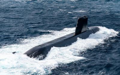 AXERIEL à bord du sous-marin SUFFREN BARRACUDA !